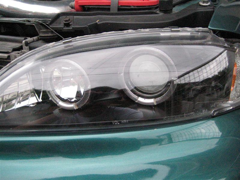 キャバリエSONAR twin haro projecter head lightsの単体画像