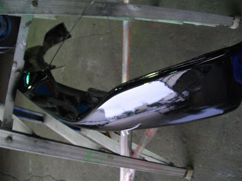 クアトロポルテFork フロントスポイラーの単体画像