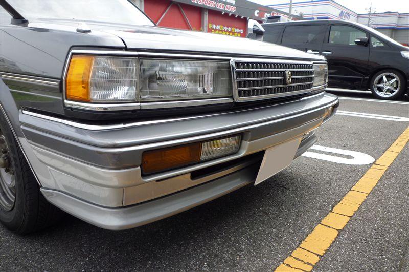 マークIIワゴントヨタ TOYOTA 純正フロントスポイラーの単体画像