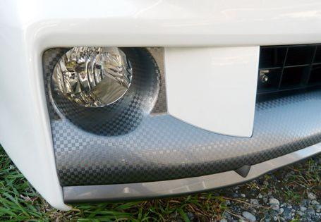 ラングラートヨタ フロントスポイラーの単体画像