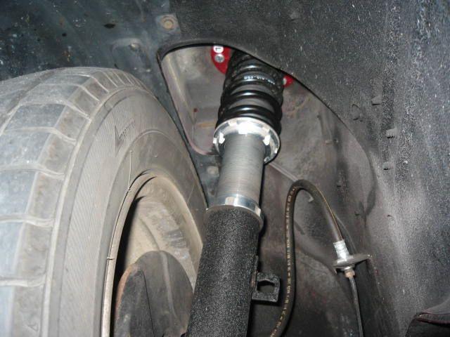 ガゼールジェネシス 車高調式Fショックの単体画像