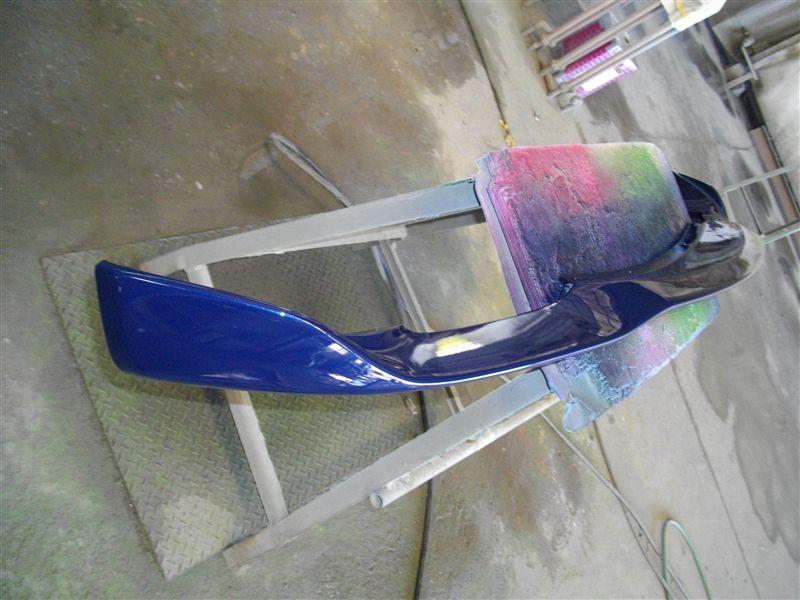 クアトロポルテFork Fork フロントスポイラー の単体画像
