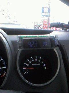 Kashimura 車内外温度計