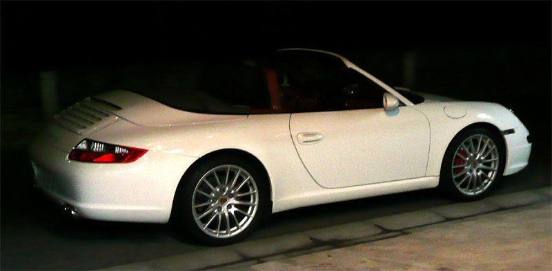 911 カブリオレポルシェ スポーツデザインホイールの単体画像