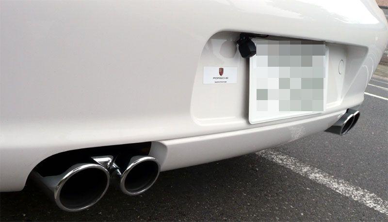 911 カブリオレポルシェ スポーツエグゾーストの単体画像
