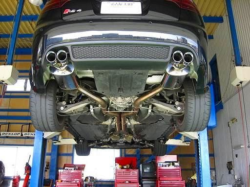 RS4 (セダン)Magnaflow  Stainless Cat-Back System PERFORMANCE EXHAUSTの単体画像