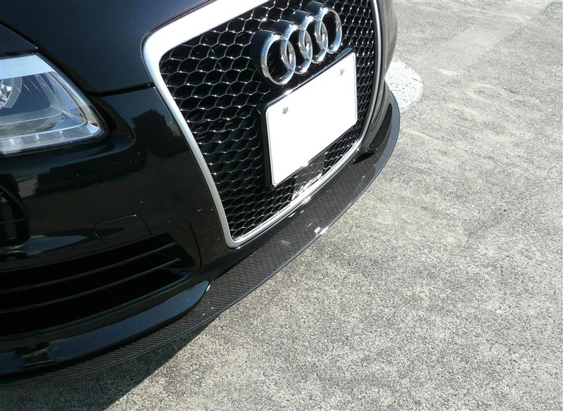 RS6 (セダン)ABT Front Spoiler Lip Carbonの単体画像