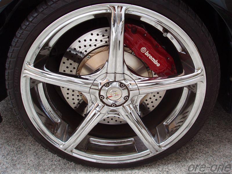 レジェンドUS RH Evolution Z5000 19X8 Wheelsの単体画像