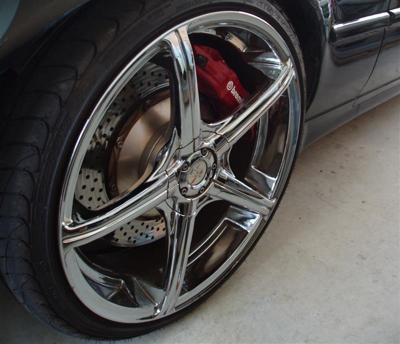 レジェンドUS RH Evolution Z5000 19X8 Wheelsの全体画像