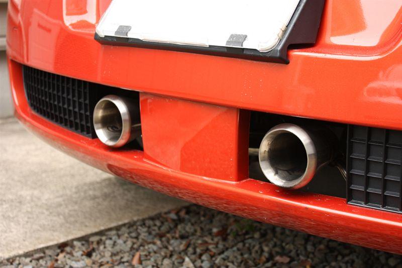 メガーヌ (ハッチバック)SIFO Megane RS Exhaust Mufflerの単体画像