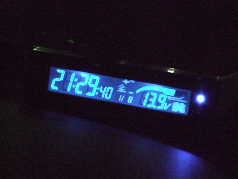 カトキチ 電圧計 電波時計