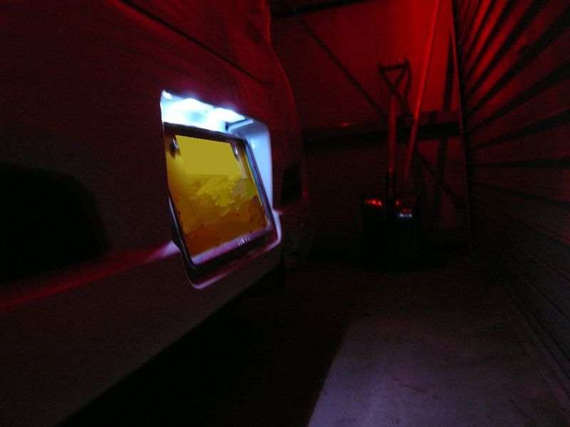 FluxLED工房「Sain」 2連Bリアナンバーランプ[02NWFB]