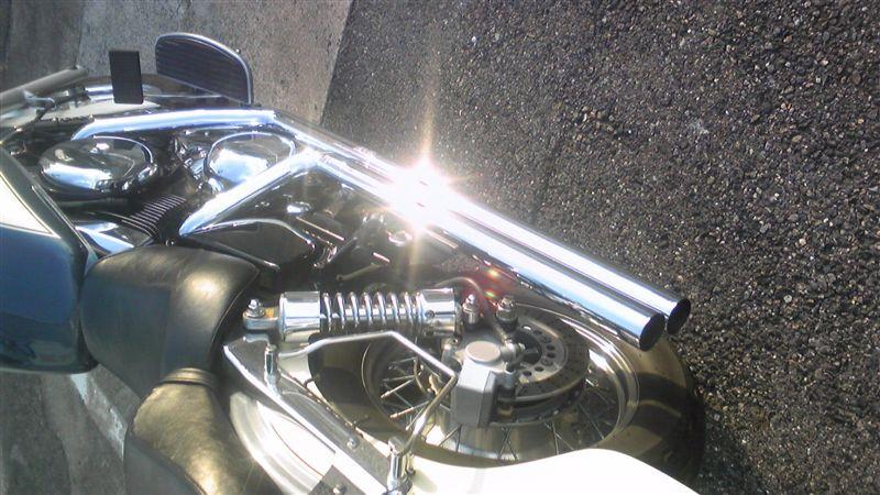 バルカン1500クラシックVANCE & HINES LONGSHOT MUFFLERの単体画像