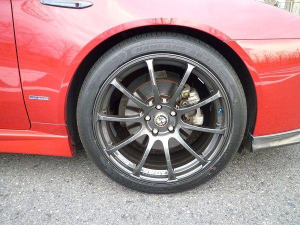 159 (セダン)YOKOHAMA ADVAN Racing RSの単体画像
