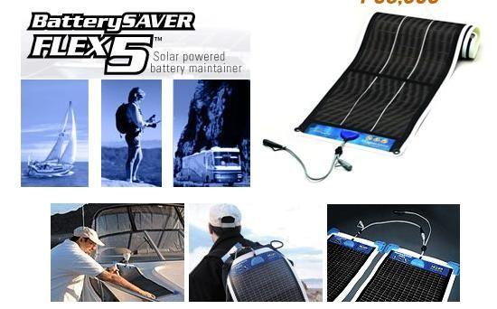 不明:ソーラパネル バッテリー・セイバー・フレックス 5W