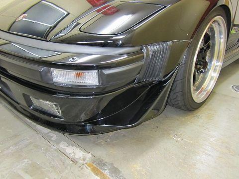 911 (クーペ)STF製 Sバンパー用カナードの単体画像
