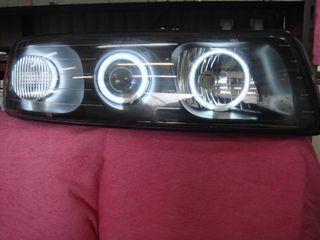 セビル純正加工インナーブラックアウト+CCFLイカリング3発 純正加工のヘッドライトの単体画像