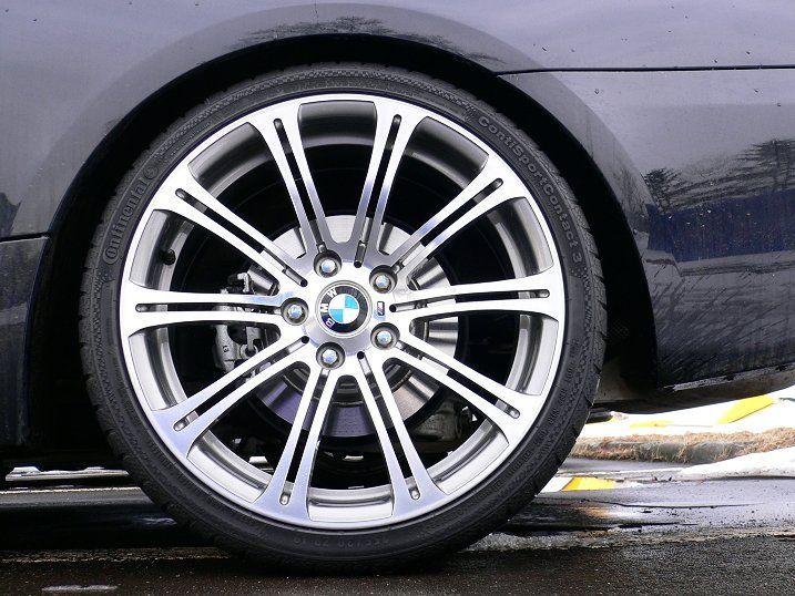 BMW純正 E9x系M3用 Mダブルスポーク220とコンチスポーツコンタクト