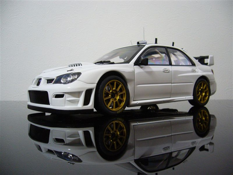 AUTO art 1/18 SUBARU NEW AGE IMPREZA WRC 2006' PLAIN BODY VERSION ( WHITE )