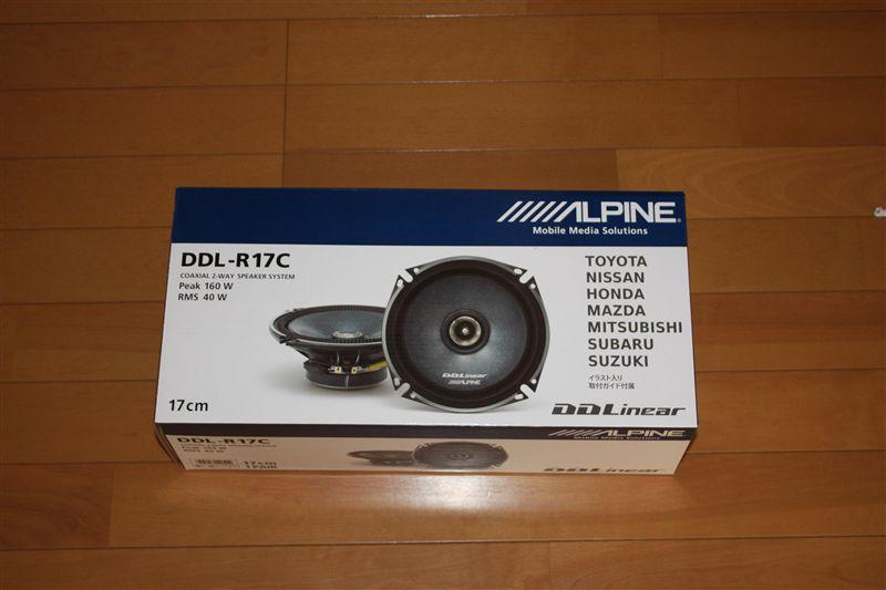 ALPINE  DDL-R17C