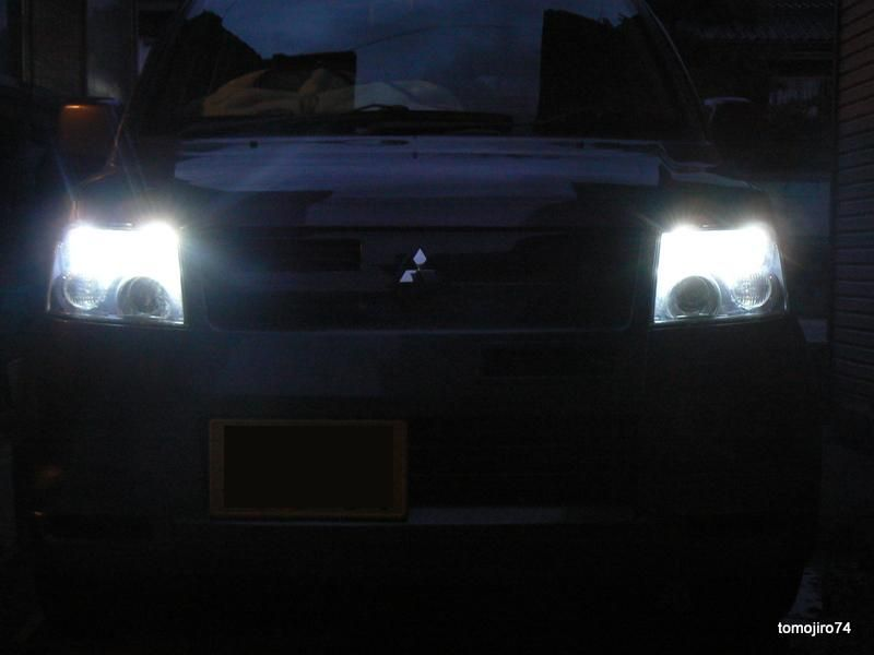 自作 T10ウェッジ型LED(5060 3chip 9LED 仕様)