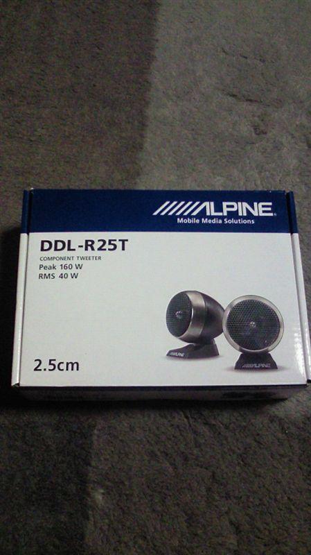 ALPINE DDL-R25T ツィーター