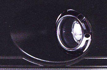 ROAR メッキフォグランプベゼル