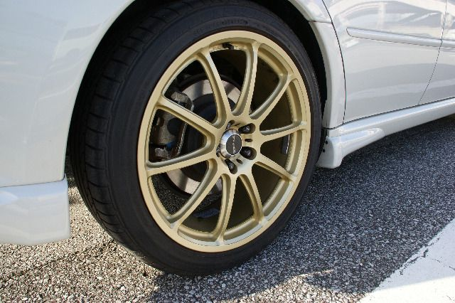 BRIDGESTONE prodrive British Gold series for SUBARU GC-010E