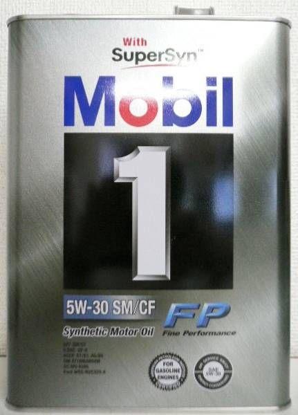 Mobil Mobil 1   Fine Performance  5W-30