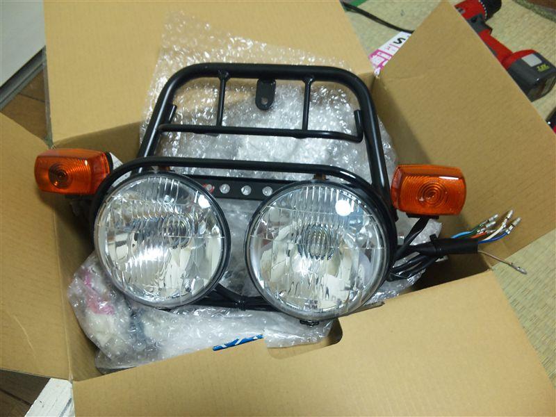 XR50 モタードHonda 純正 Zoomer ヘッドライトAssyの単体画像