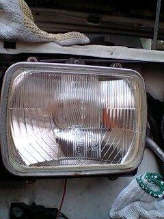 ロデオCIBIE シビエ H4角2灯ヘッドライトの単体画像
