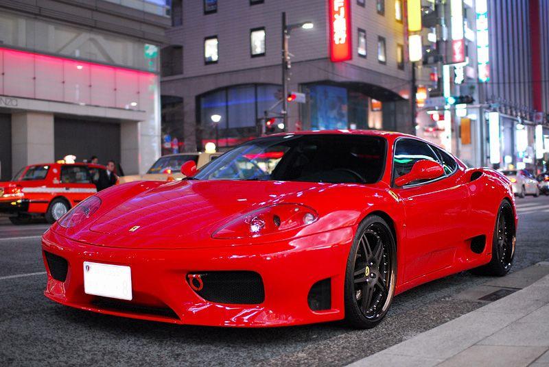360モデナNovitec Rosso Bumper Spoilerの単体画像