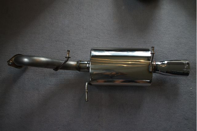 ヤリスTRD USA TRD Sport mufflerの単体画像