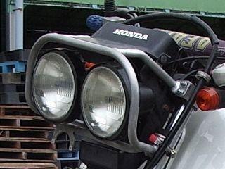 ジェベル125HONDA XLR-BAJA用ライトの単体画像