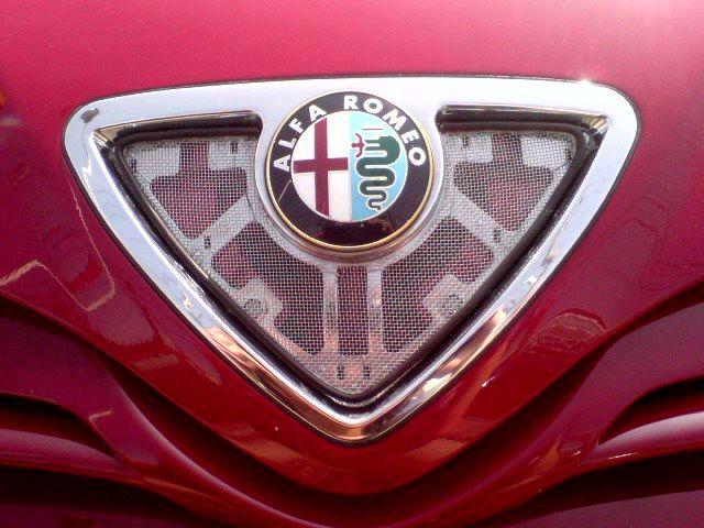 145Alfa Romeo Alfa Romeo純正改 自作メッシュグリルの単体画像