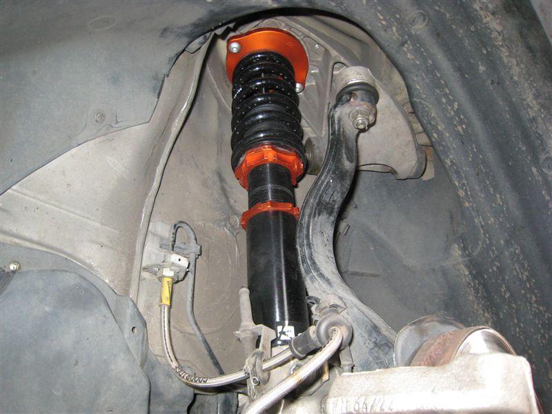 156K-SPORT  減衰36段調整フルタップ車高調 の単体画像