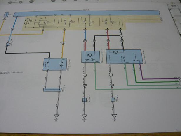 トヨタ純正 スマートキー 配線図