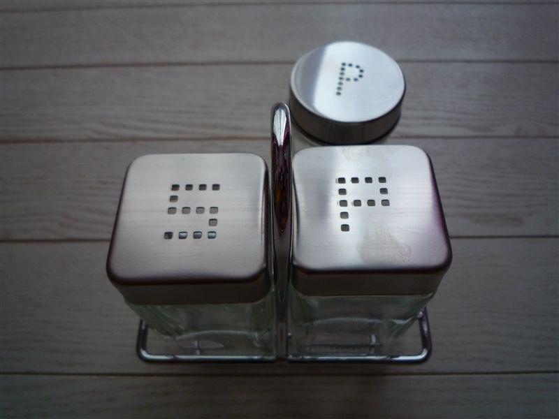 [ニトリ] 調味料入れ 塩・胡椒