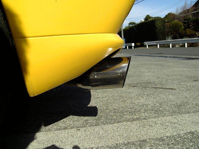 クーペフィアットover racing マフラーの単体画像
