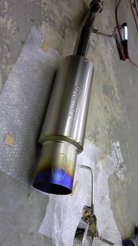 ラインハルト ラインハルト匠マフラー砲弾チタンSTD