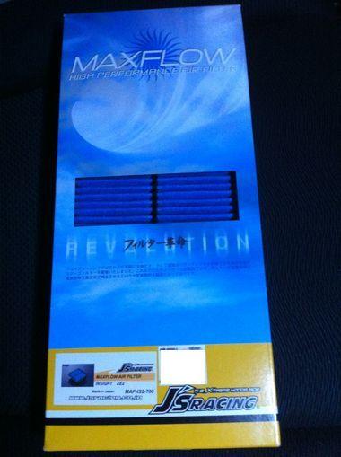 J'S RACING JAPAN MAXFLOW エアーフィルター