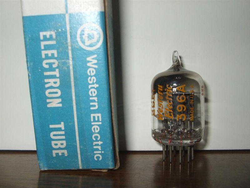 真空管 (WE) WE-396A