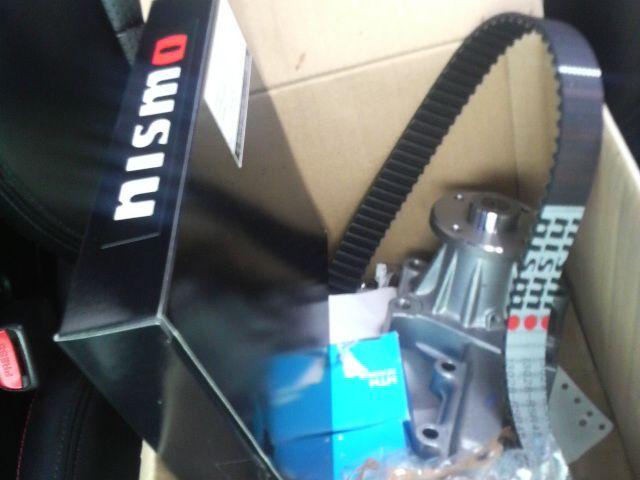 NISMO 強化タイミングベルト、N1ウォーターポンプ