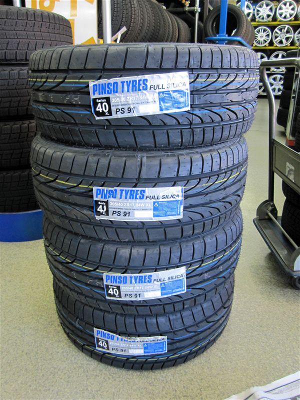 Pinso Tyres PS-91 のパーツレビュー | エアウェイブ(nori~AIR ...