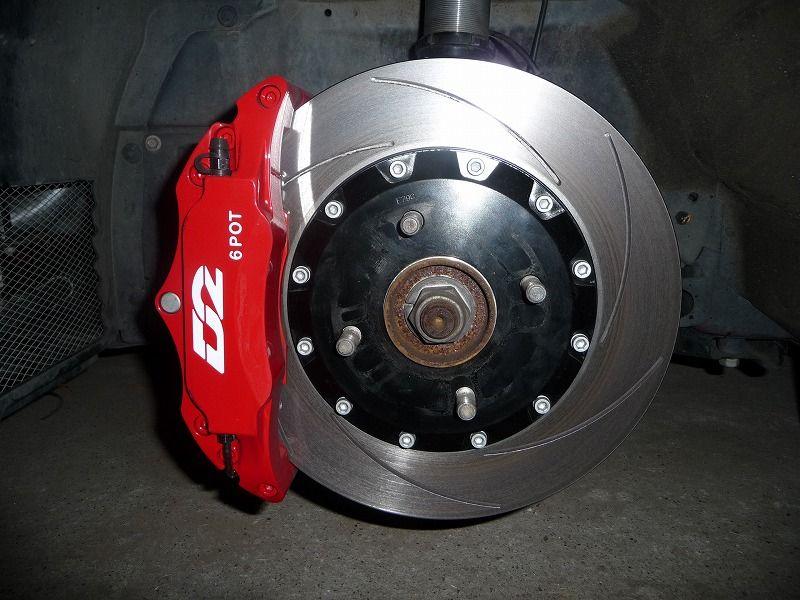 D2 RACING SPORT 6POD Brake System 304mm
