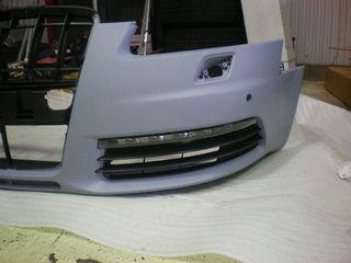 A6 (セダン)アウディ純正 S6バンパー グリル デイタイムライトの単体画像