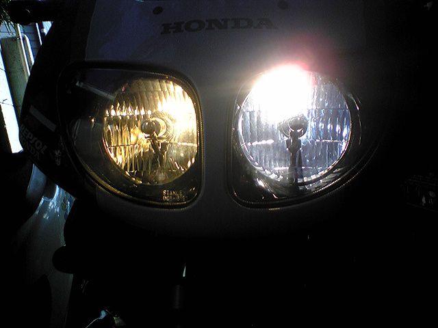 NSR150SP不明 ヘッドライトの単体画像