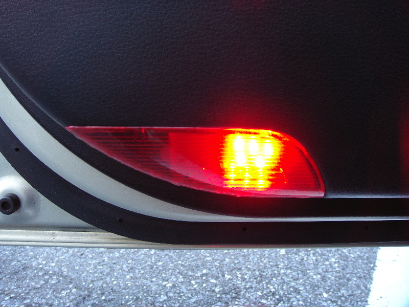 FluxLED工房「Sain」・シャイン 8連R赤カーテシランプ