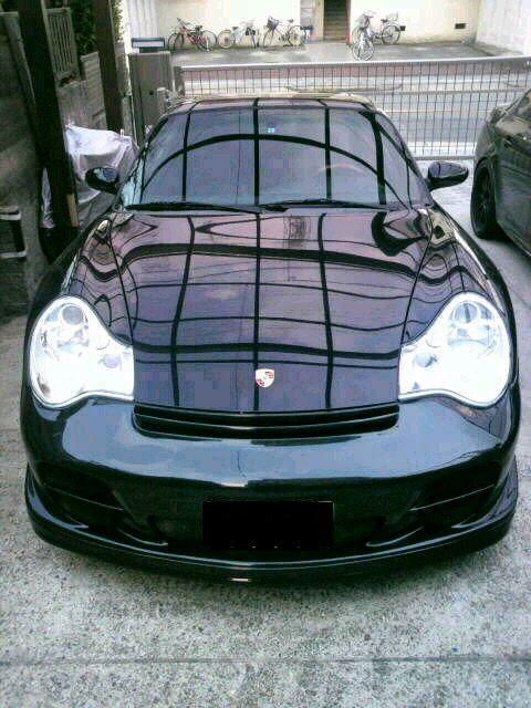 911 (クーペ)PORSCHE GT2 Fr. Bumperの単体画像