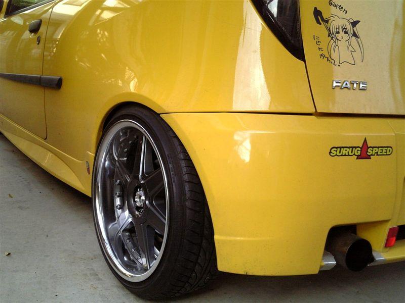 プント (ハッチバック)TAKECHI PROJECT RacingHart RacingHart TYPE CRの単体画像